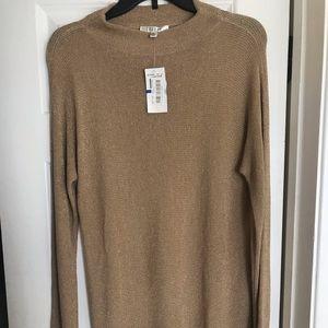Spense Metallic Gold Tunic/Dress. NWT. XL